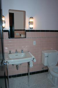 Vintage Pink bathroom tile