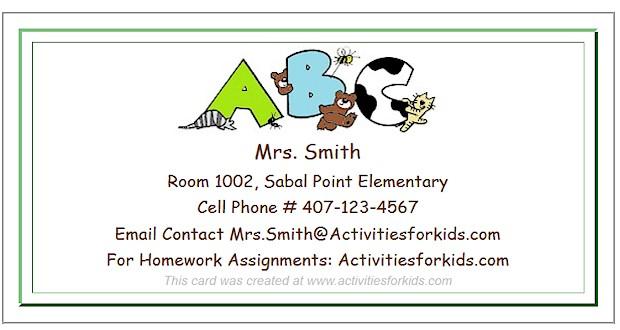 teacher contact information template - Romeolandinez - contact information template