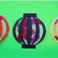 Chinese Paper Lanterns Printable