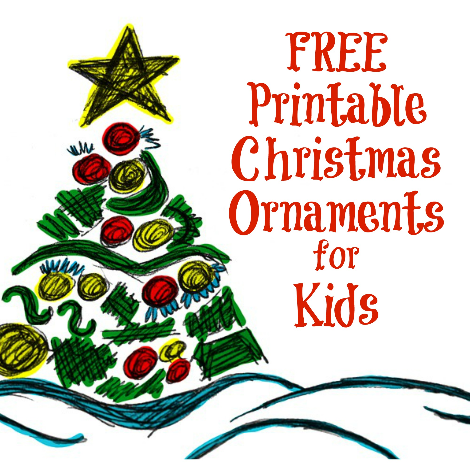 The Activity Mom Printable Christmas Ornaments For Kids