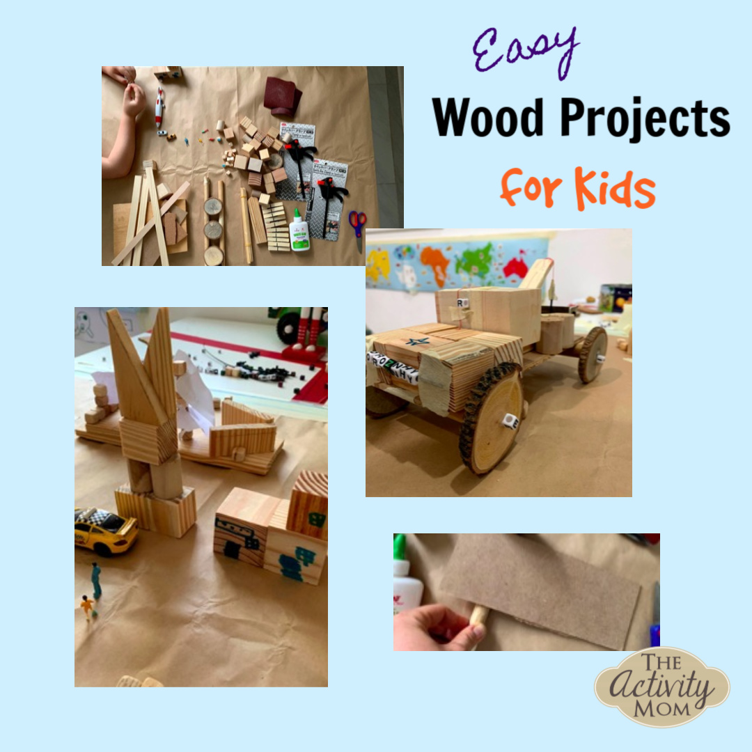 The Activity Mom Simple Wood Projects For Kids To Make The Activity Mom