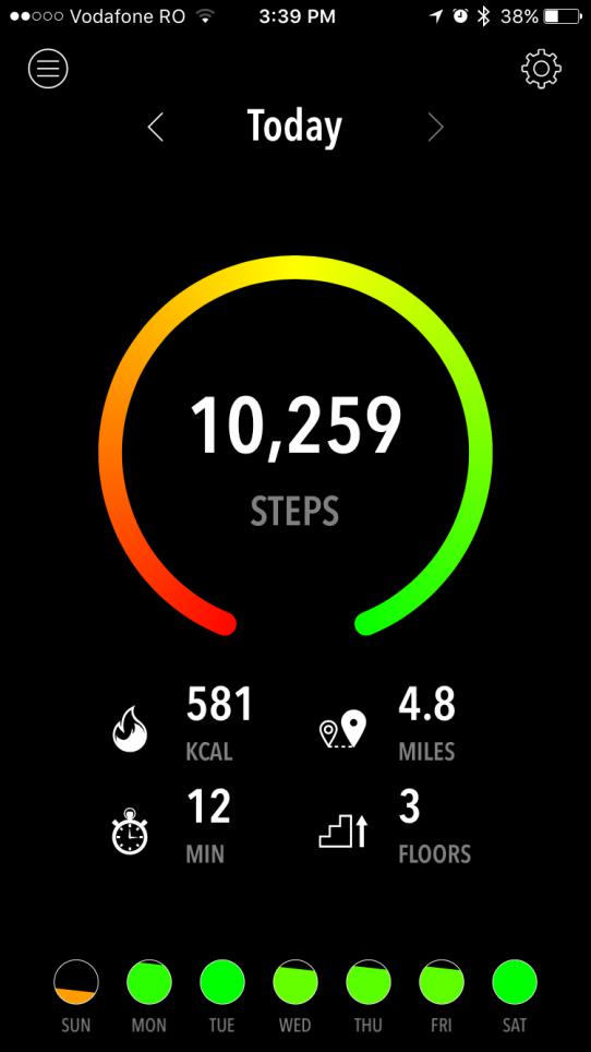 Exercise while traveling with an iPhone Pedometer App - vacation tracker app
