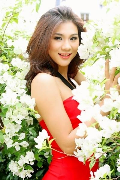 Kim Dung modelling photos