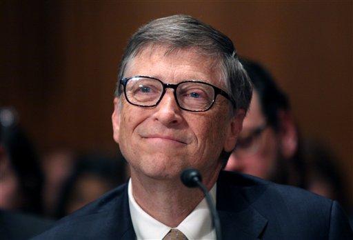 Bill Gates (AP Photo/Lauren Victoria Burke)
