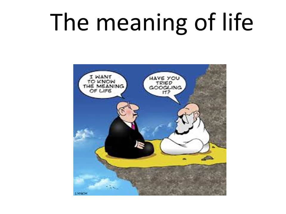 The Meaning Of Life Actualizepotential