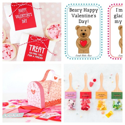20 Adorable Free Valentine\u0027s Day Printables- A Cultivated Nest