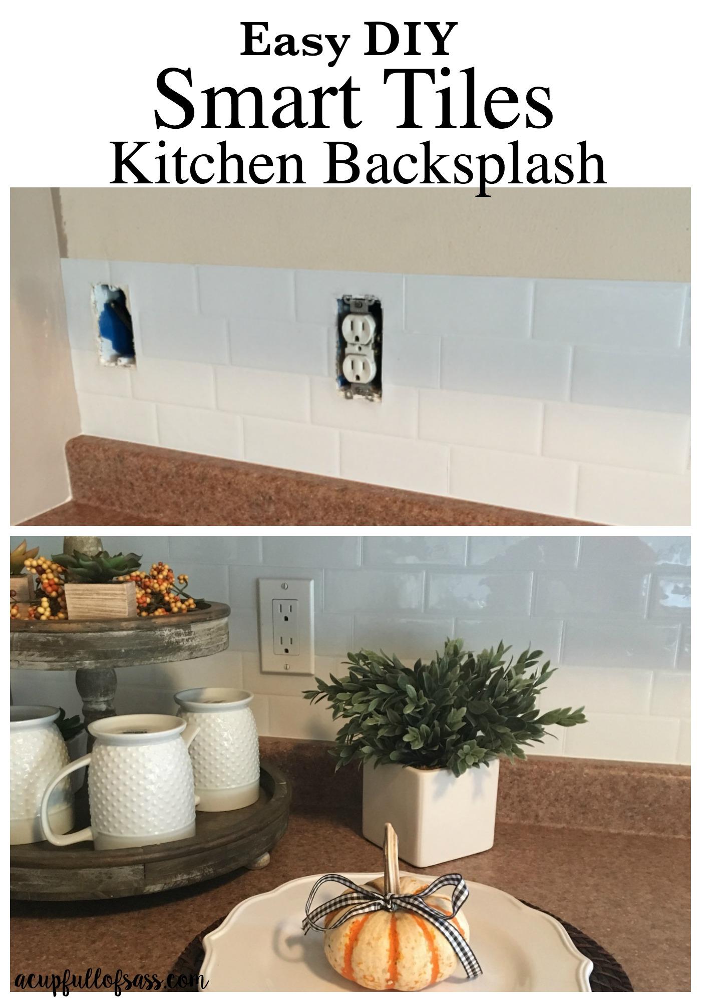 easy diy smart tiles kitchen backsplash kitchen tile backsplash