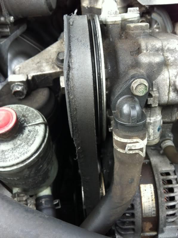 Acura TSX Serpentine belt replacement issue - AcuraZine - Acura