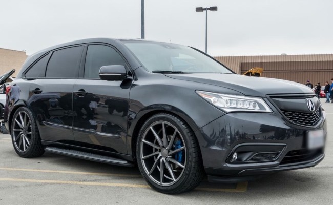 origin Acura Mdx Black