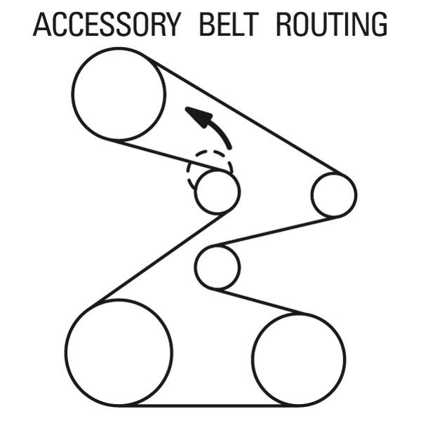 2005 accessory belt diagram - AcuraZine - Acura Enthusiast Community