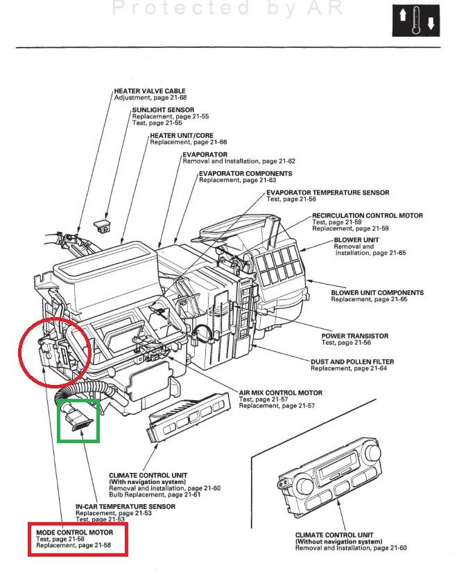 2007 acura rdx Motor diagram