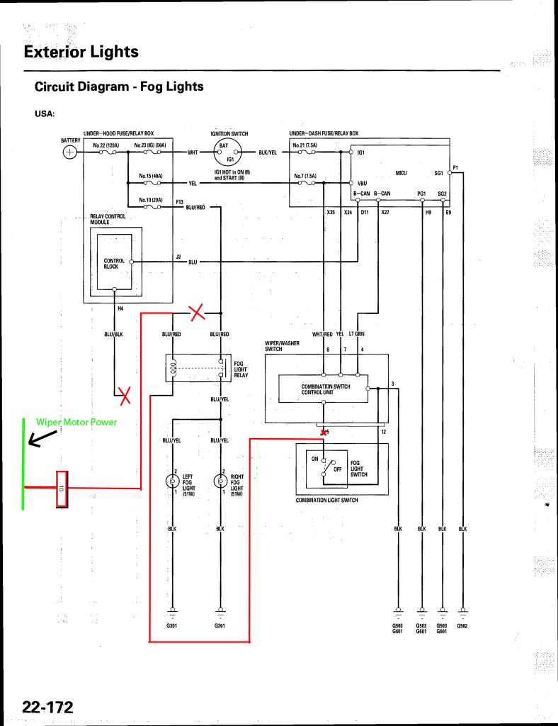 skoda fog lights wiring diagram