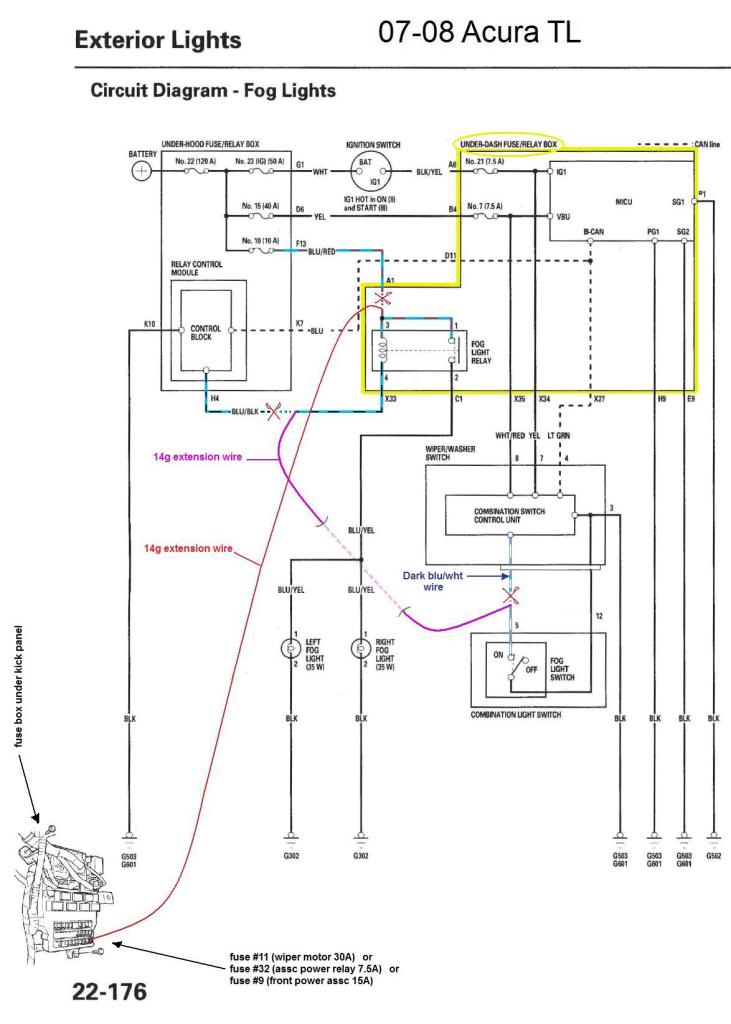 Acura Tl Alarm Wiring Diagram Electronic Schematics collections