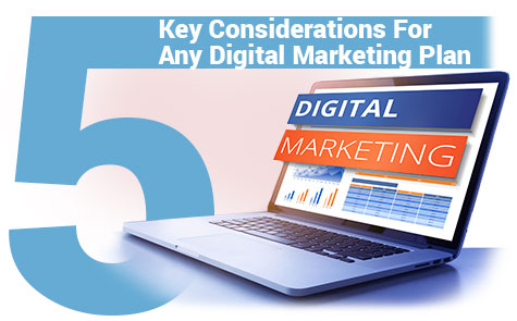 5 Key Considerations For Any Digital Marketing Plan ACU Web