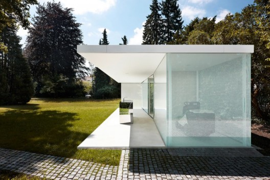 Poolhouse Philipp Baumhauer Archdaily - Poolhaus Deutschland