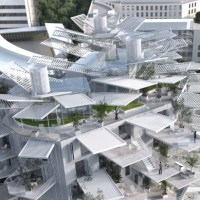 Sou Fujimoto-Led Team Designs Tree-Inspired Montpellier Housing Tower