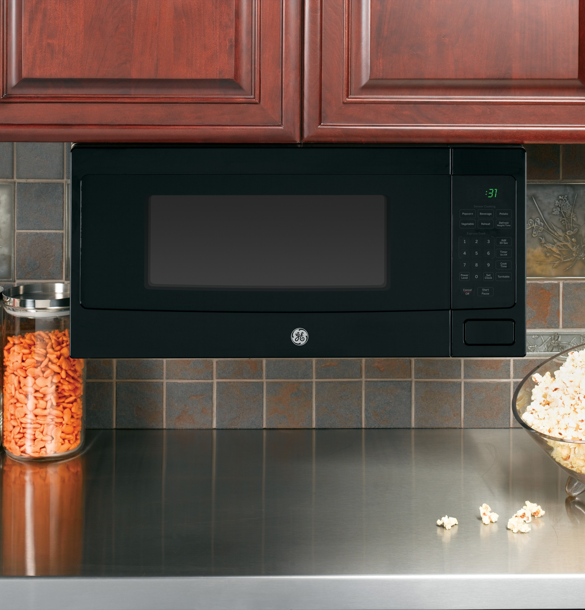 Countertop Warming Drawer Ge Profile Series 1 1 Cu Ft Countertop Microwave Oven