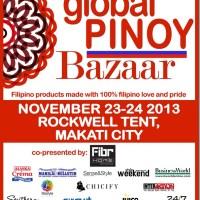 Global Pinoy Bazaar 2013: November 23-24, 2013
