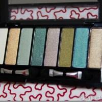 The Greens: Avon 8-in-1 Eyeshadow Palette
