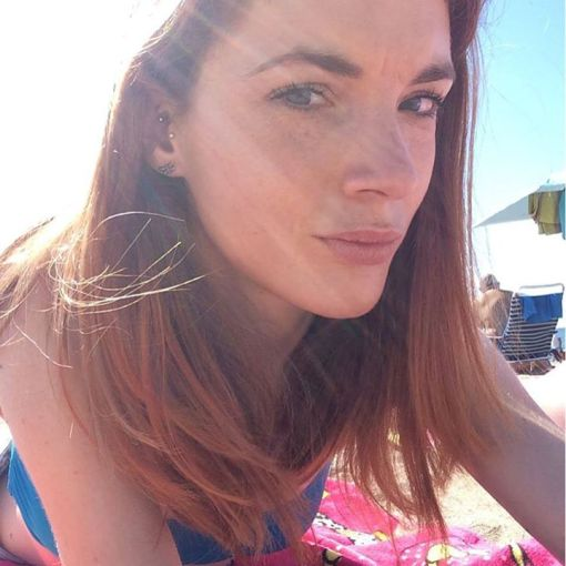 Beach life selfie.