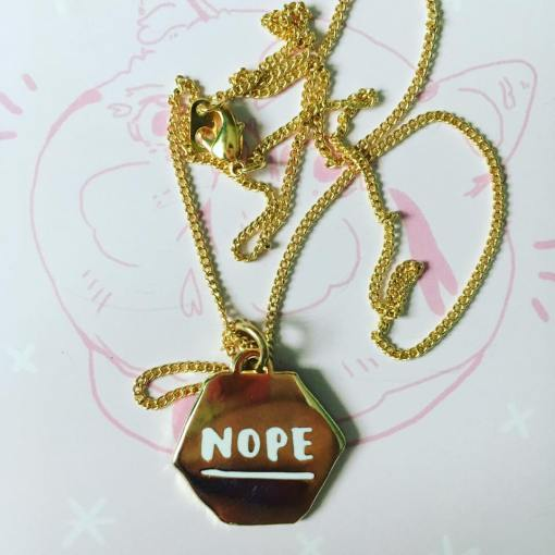 Hello Harriet necklace that sums me up