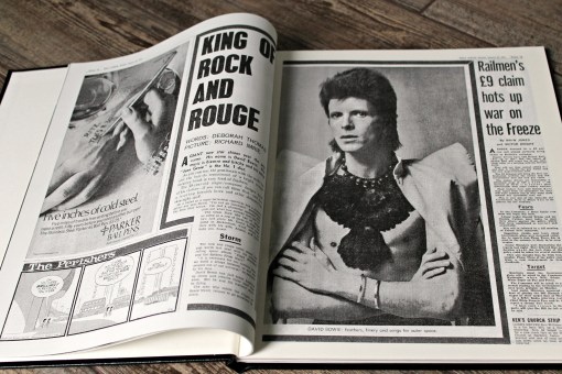david bowie newspaper history content 1