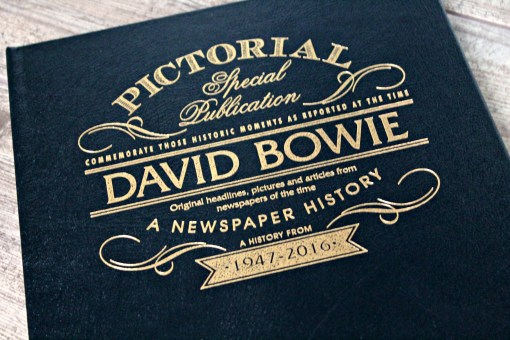 david bowie newspaper history cover details