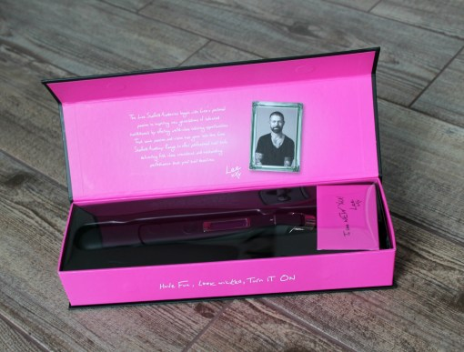 lee stafford the straightener packaging
