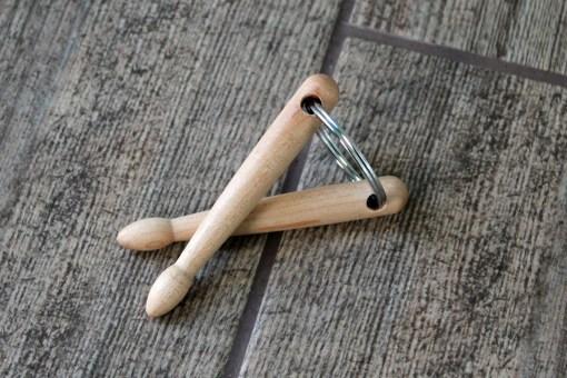 drumstick keychain