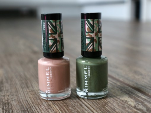 cara camo nail polishes