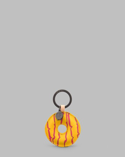 Yellow_Iced_Ring_Leather_Keyring_a