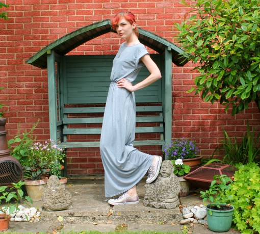 jersey maxi dress from krisp clothing