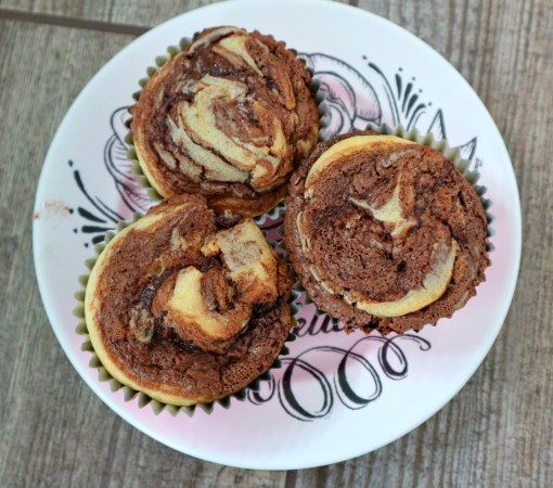 macabella swirl cupcakes