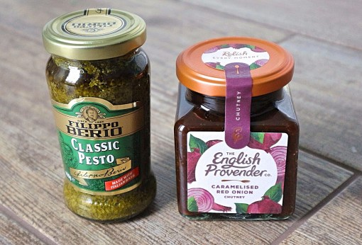 degustabox pesto and chutney