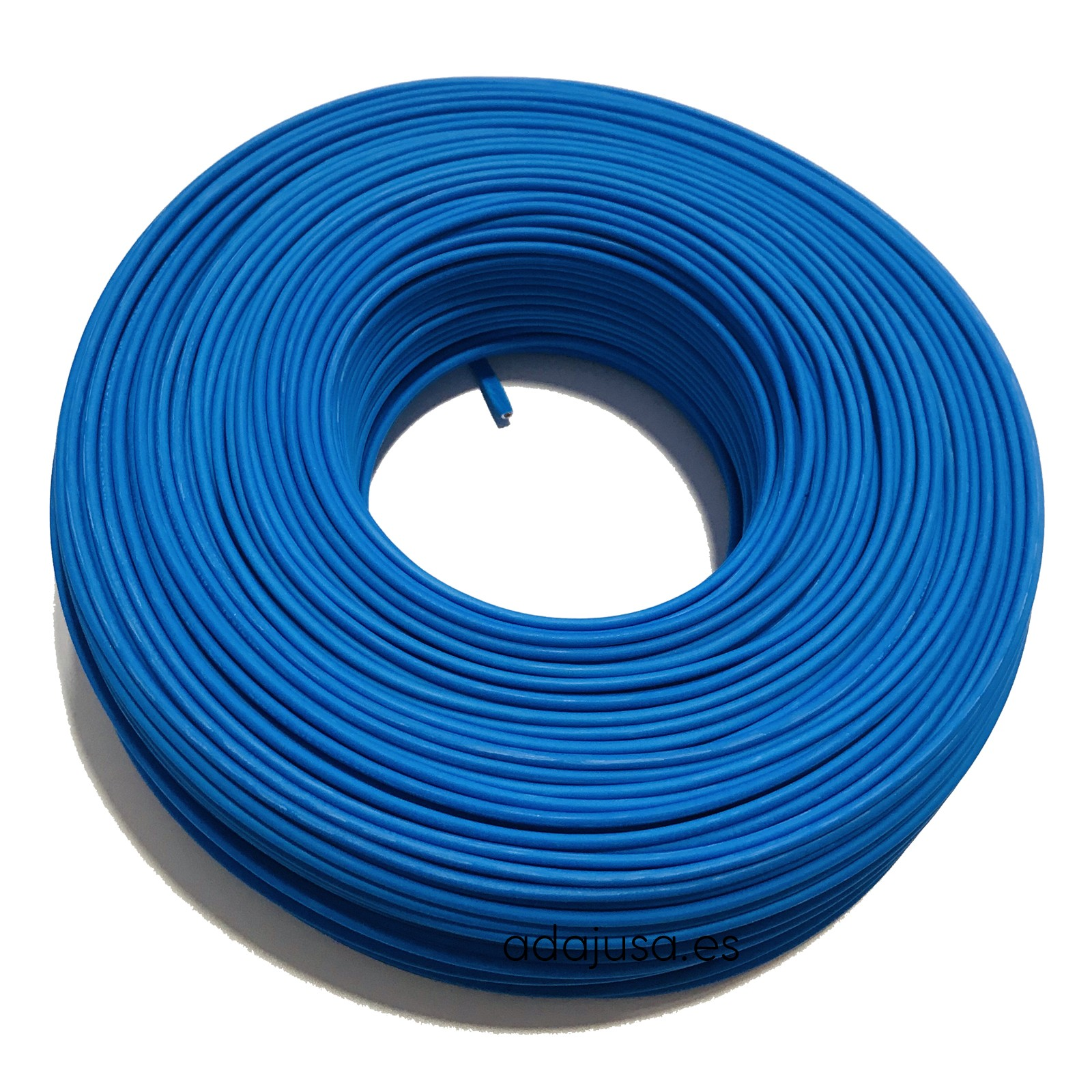 Manguera Libre De Halogenos 3x1 5 Cable Flexible Unipolar 1 5 Mm2 Color Azul