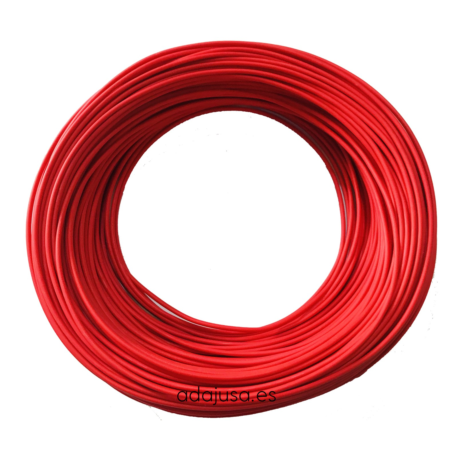 Manguera Libre De Halogenos 3x1 5 Cable Flexible Unipolar 1 5 Mm2 Color Rojo