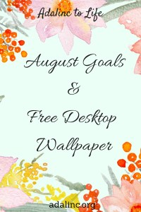 Blog August Goals Pic