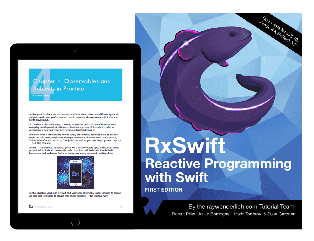 Rxswift Reactive Programming With Swift The Book Review