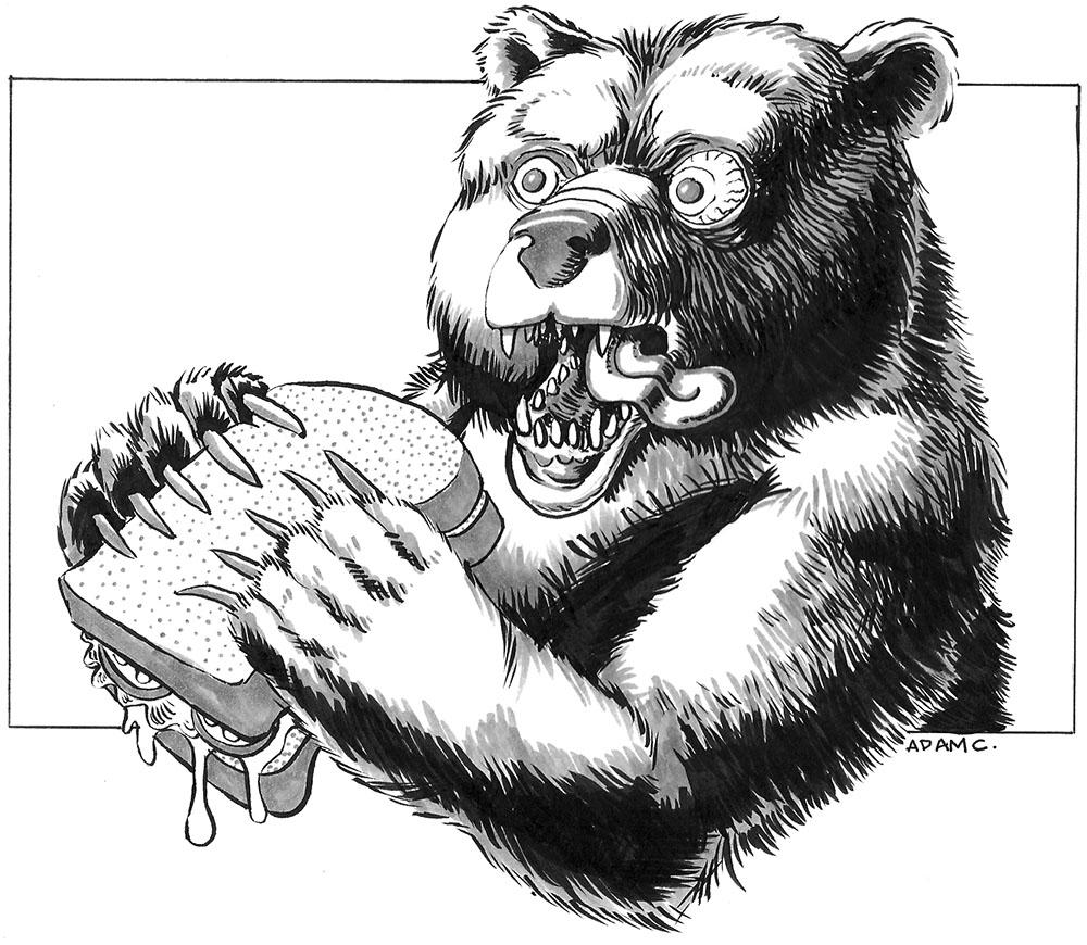 Bear and Sandwitch