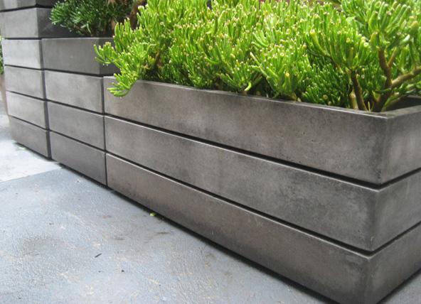 13 Contemporary Concrete Planters