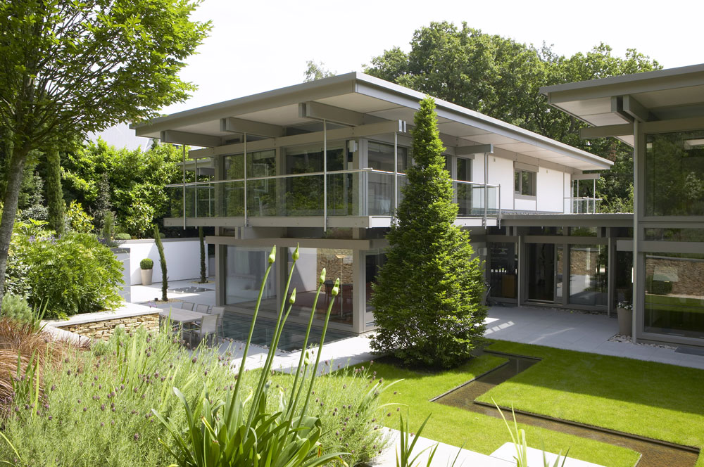 Davinci Haus Bungalow Residential Photographers London | Huf Haus Weybridge