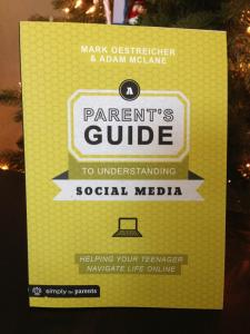 My new book: A Parent's Guide to Understanding Social Media