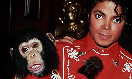 Michael Jackson and Bubbles