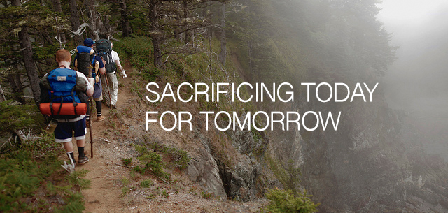 sacrificing-today