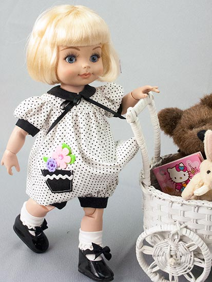 Fashion Clothes Anne Estelle And Patsy/half Pint Doll Clothes Pattern