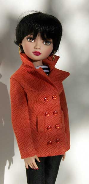 Fashion Clothes Manhattan Cool Ellowyne Doll Clothes Pattern