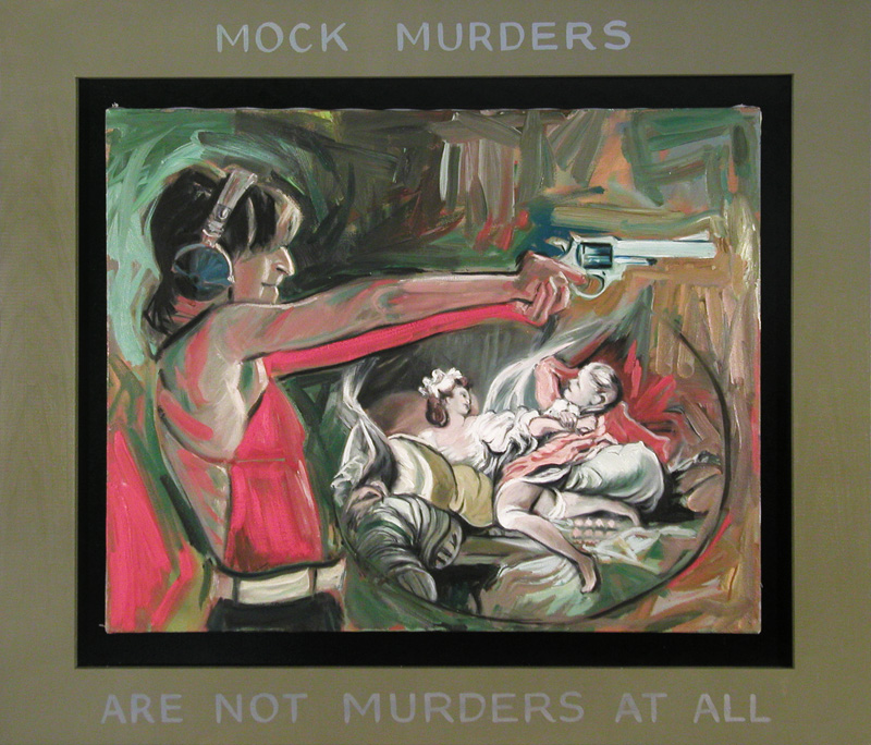 Mock Murders are Not Murders at All