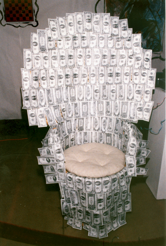 4. the money chair