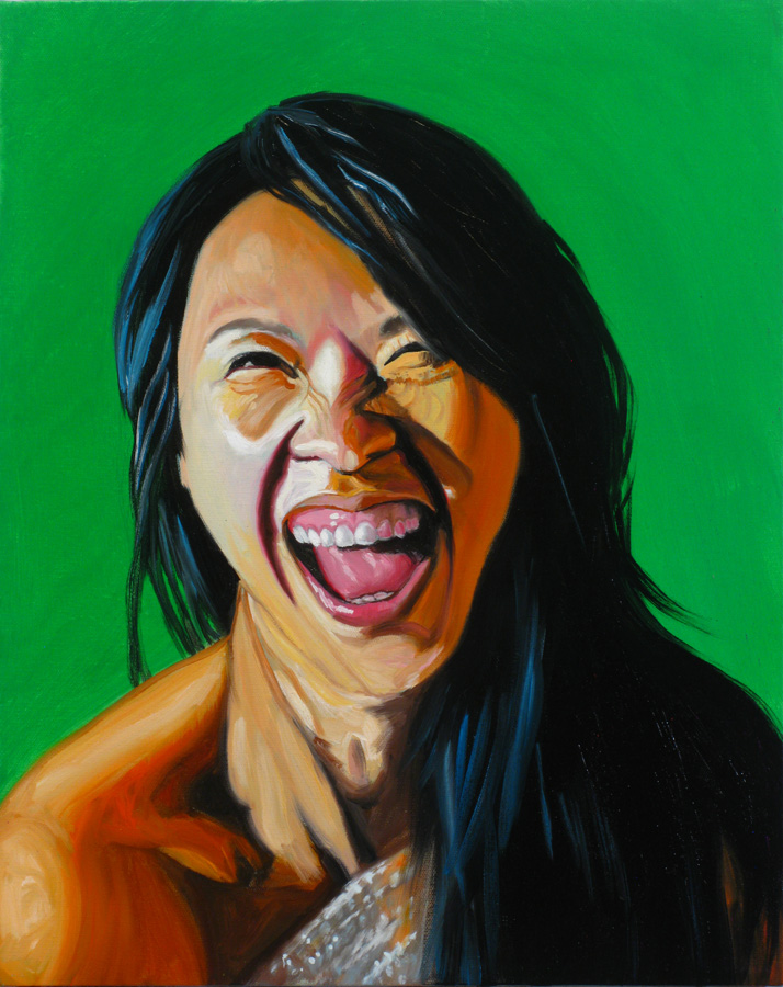 Untitled 002(Laughing Woman)