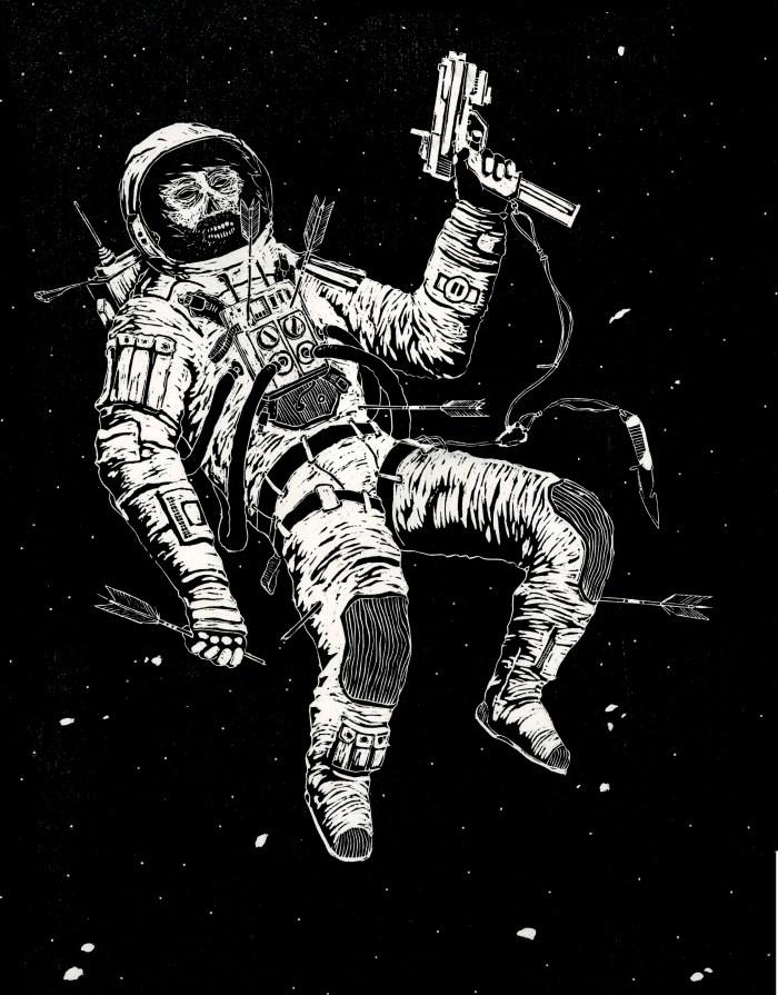 SPACE MAN JONES